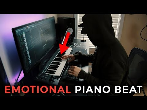 MAKING AN EMOTIONAL PIANO BEAT. **SAD** | Making a Beat FL