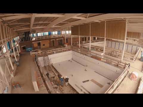 Nieuwbouw zwembad Nijkerk Timelapse 4