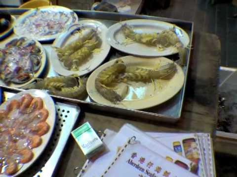 Aberdeen Seafood Restaurant in Hong Kong