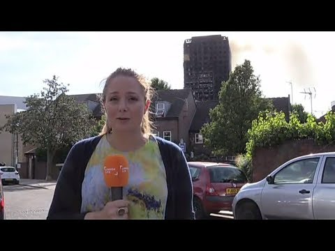 Grenfell Tower Fire: London Live News 1730-1755 - 14.06.2017