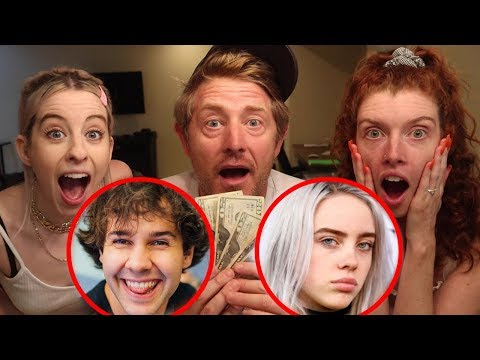 VLOG SQUAD CELEBRITY NET WORTH GAME!!