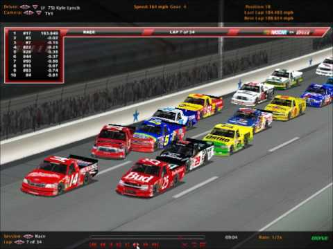 NRSL Advocare Truck Series Race 4 Interstate Batteries 200