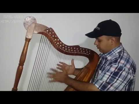 """ArpaMartinez Tutorial para tocar arpa: Ejercicio """"Metralleta"""" Subtitled in English"""