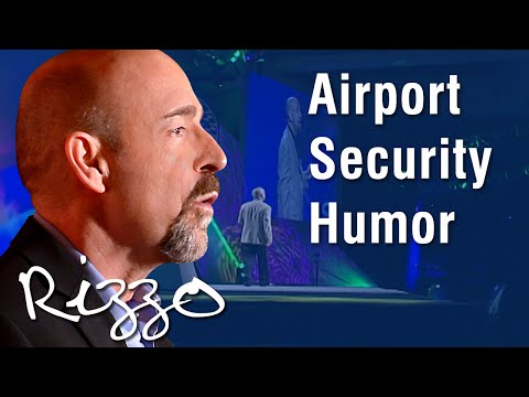 Airport Security Humor with Funny Keynote Speaker Steve Rizzo