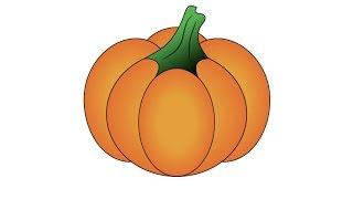 How to Draw a Pumpkin in Adobe Illustrator
