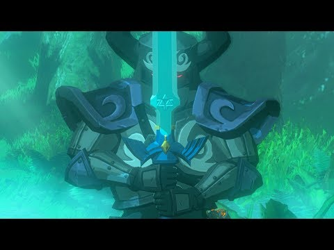 Zelda: BOTW (Phantom Link Pulls Out The Master Sword)