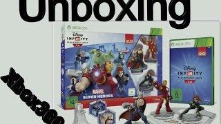 ✂ ⓊⓃⒷⓄⓍⒾⓃⒼ: Disney Infinity 2.0: Marvel Super Heroes Starter-Set Xbox360