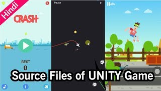 Source Files of My Games | Unity 5.5 Game Source Files | 2D Game Files | Hindi Game Development