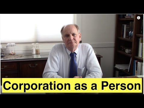 Corporation as a Person