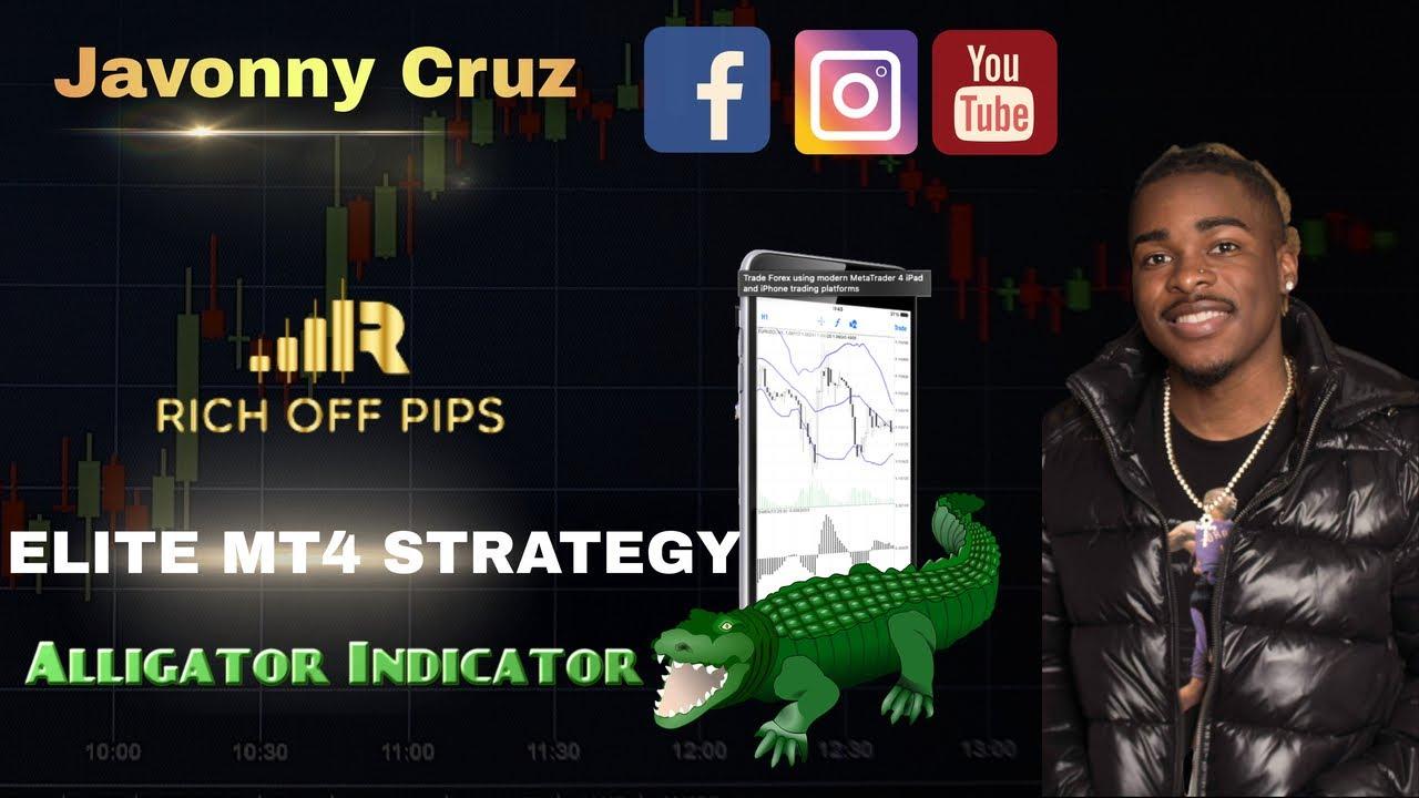 Aligatorius indikatorius ir prekyba pagal tendenciją - Admirals