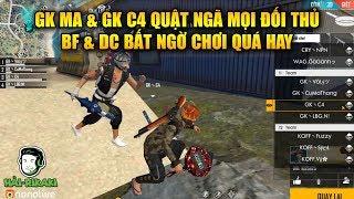 Free Fire | GK Mamixi Và GK C4 Quật Ngã Mọi Đối Thủ - BF Và DC Bất Ngờ Chơi Quá Hay | Rikaki Gaming