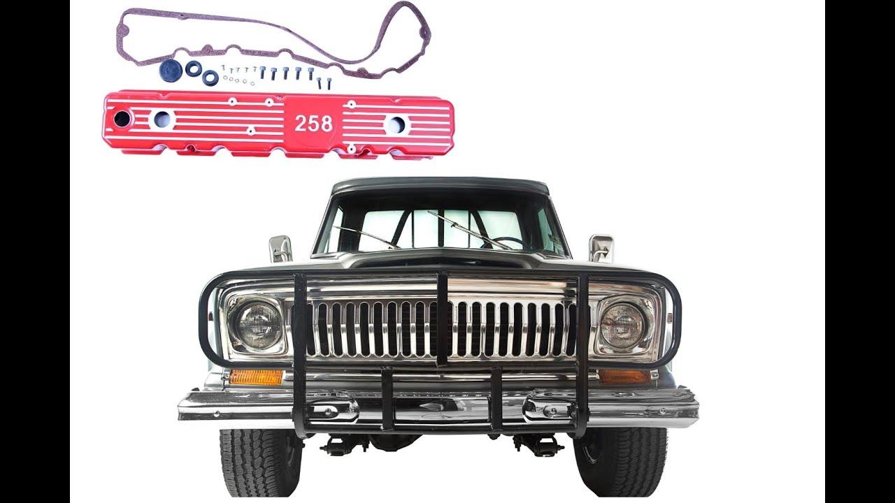 Jeep 258cu / 4 2L Aftermarket Aluminum Valve Cover Install