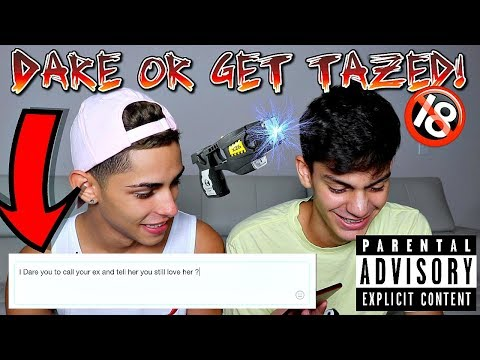DARE OR GET TAZED FT // EDWIN BURGOS **GONE WRONG**
