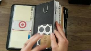 Traveler's Notebook Setup - Planner & Wallet - April '17