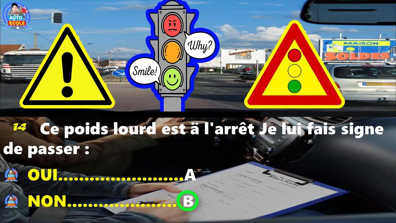 Code de la route 2020 Serie # 5  permis de conduire TOP examen