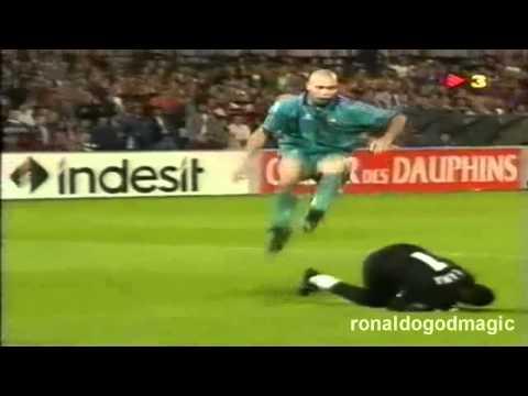 96/97 UEFA Winnerscup final Ronaldo VS PSG
