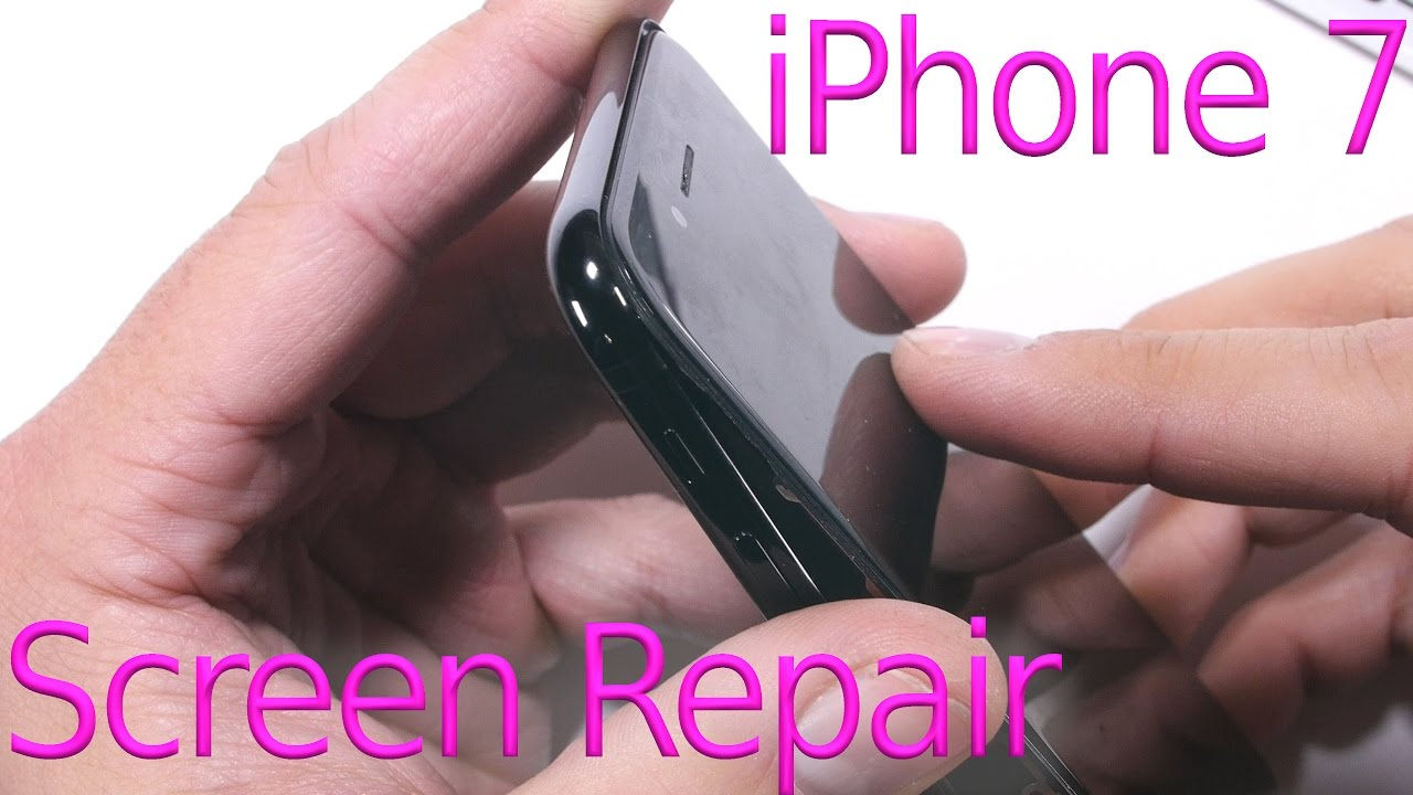 iphone 7 screen replacement shown in 5 minutes youtube