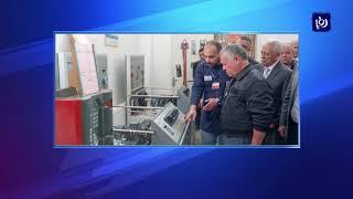 جلالة الملك يفتتح مصنع الجنيد للألبسة في عجلون  - (11-12-2018)
