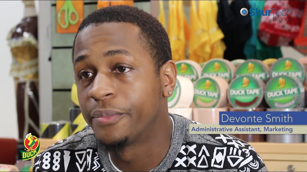 Devonte Smith, Marketing Administrative Assistant - ShurTech Brands