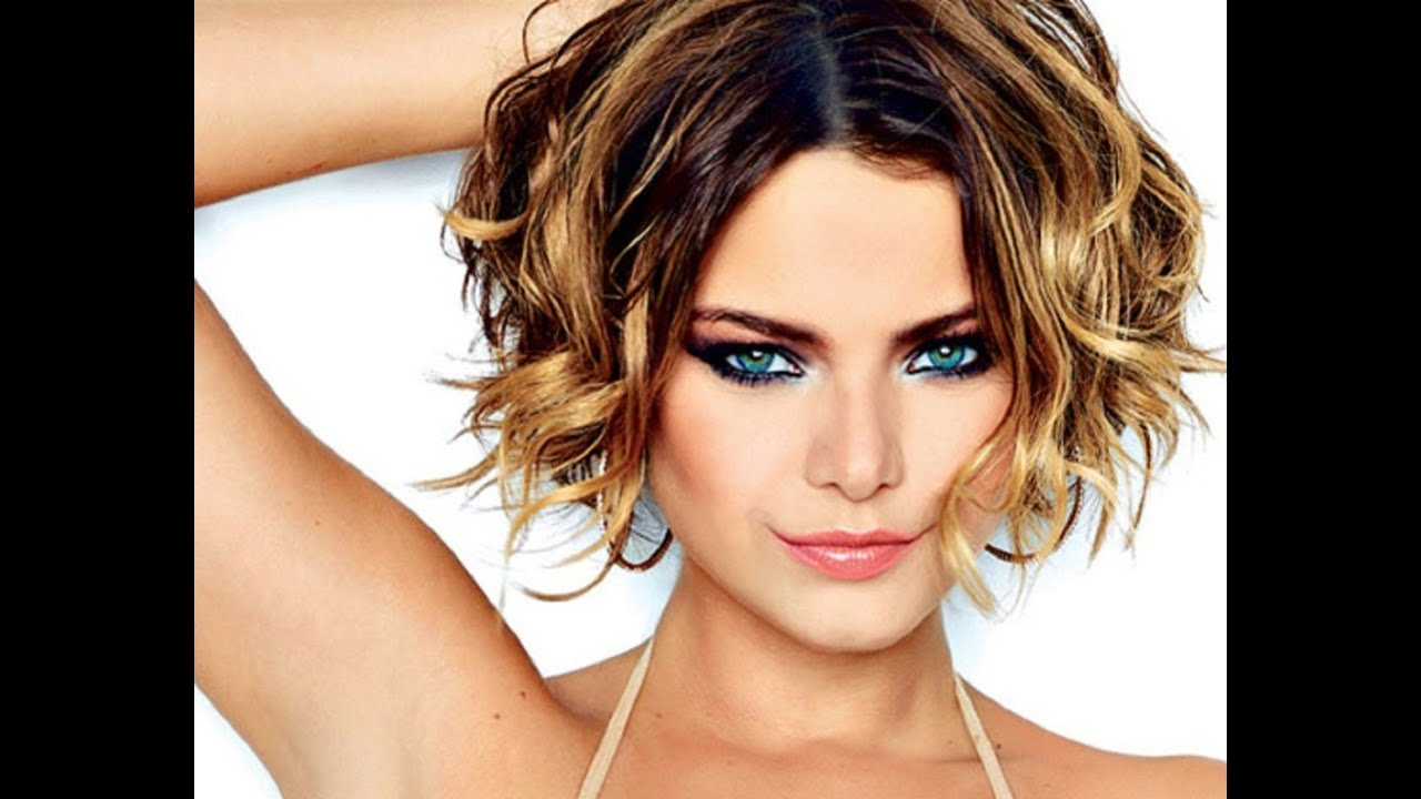 Medium Hair Curly Styles: Short Hairstyles For Wavy Hair