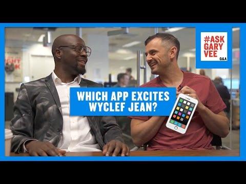 Which App Does Wyclef Jean Prefer?