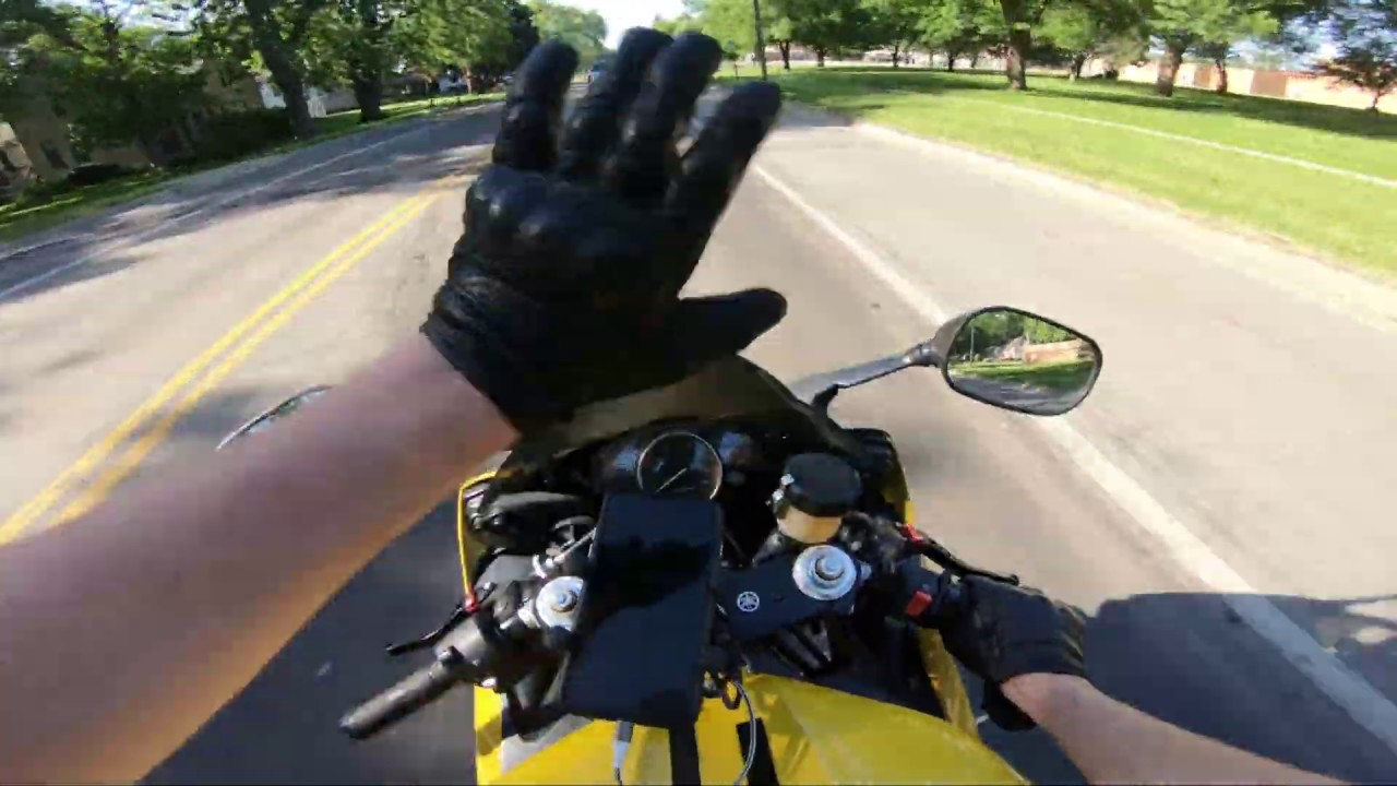 how to ride a motorcycle faster