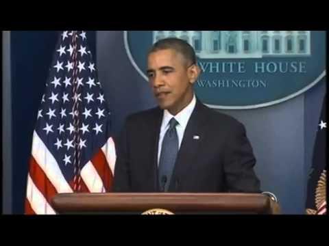 RAW: Obama Speaks on Economy, Immigration, Ukraine, Mid East