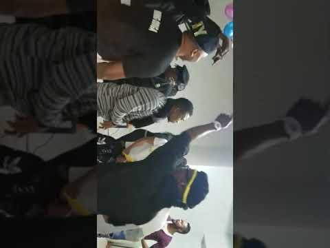 Prince Ehis gyrating with Neo Black Movement