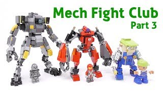 Gambar cover LEGO - Titanfall Mech And New Challengers (Mech Fight Club Part3) - Stop Motion Build