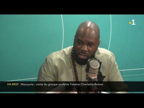 Kemi Seba invité du Mayouri info de retour en Guyane pour soutenir Olivier Goudet  de