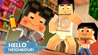 Minecraft: HELLO NEIGHBOR - O WIIZINHO TA APAIXONADO PELA FILHA DO VIZINHO   EP 5