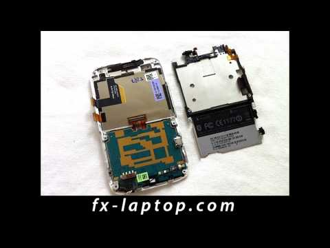 Disassembly HTC ChaCha - Battery Glass Screen Replacement