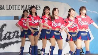 超絶かわいいチアガール #千葉ロッテマリーンズ.