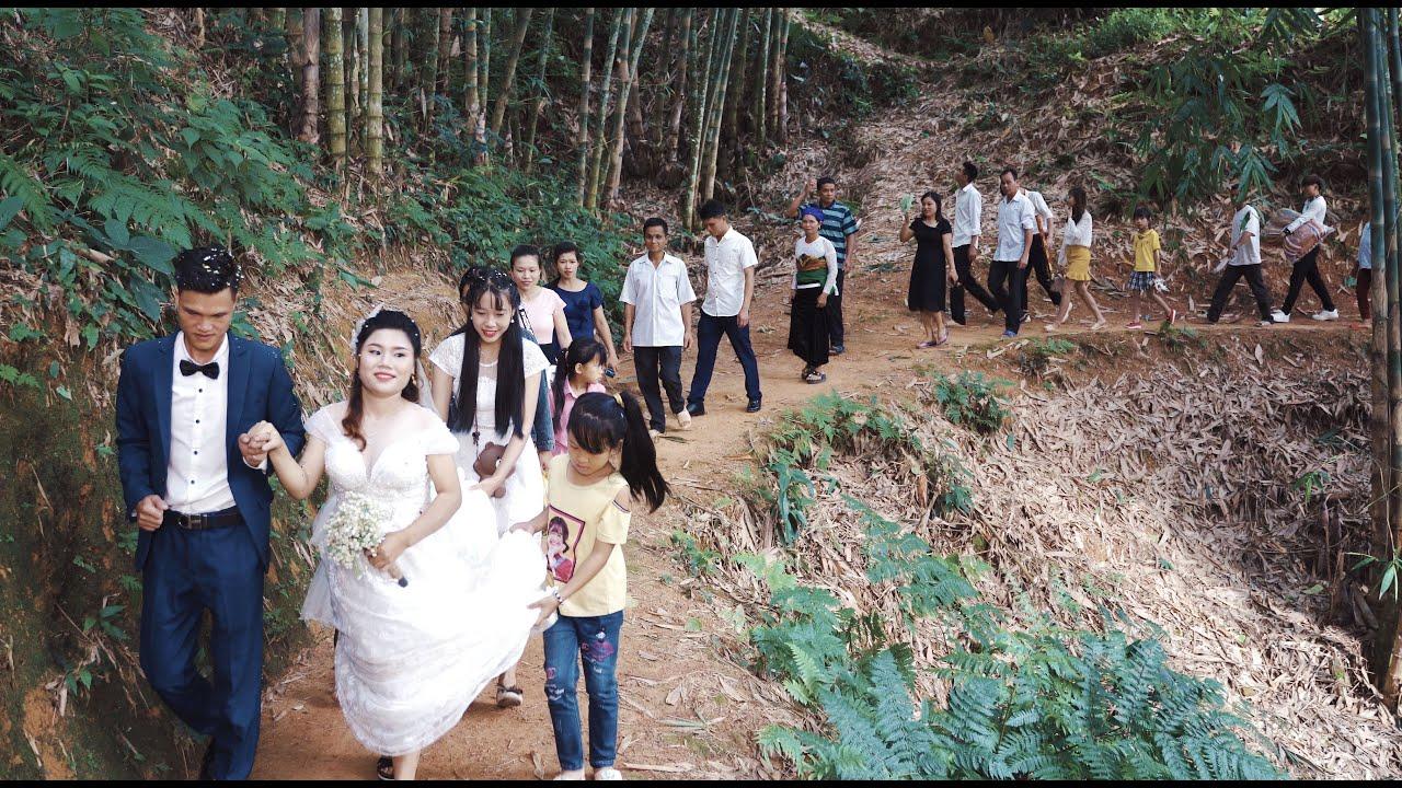 Đám cưới thôn quê - Leo núi bắt vợ ở đây phải nói là quá tài