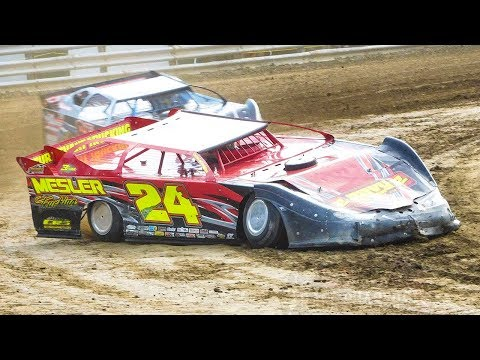 Brad Mesler #24B   In-Car Camera   Genesee Speedway   9-17-17
