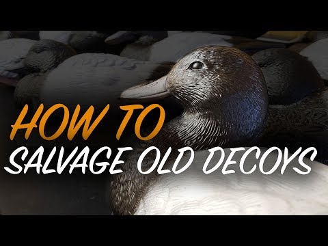 How To Paint Decoys | Cheap Duck Decoys