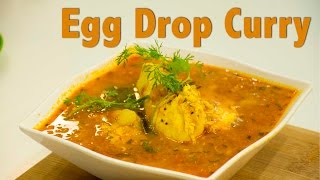 Egg Drop Curry | Indian Curry I Chefharpalsingh