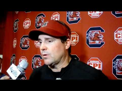 Will Muschamp after USC's second scrimmage