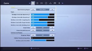Best Sensitivity For Shotguns, Accuracy And Building (Fortnite)