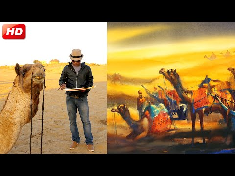 Art Exhibition | Nehru Centre Art Gallery | Indian Art | Rajasthan Painting | Ananta Mandal painting