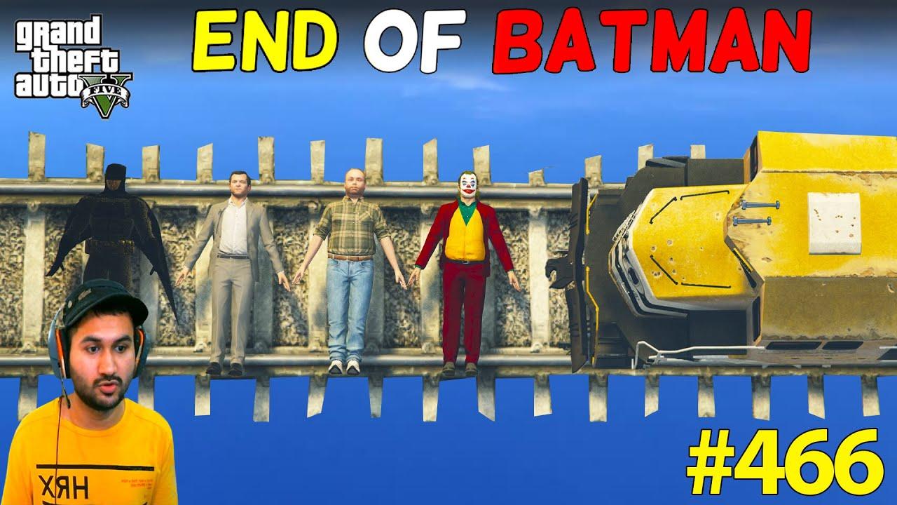 END OF BATMAN MICHAEL FRANKLIN LESTER GODFATHER IN GTA 5 | LAST PART | GTA5 GAMEPLAY #466