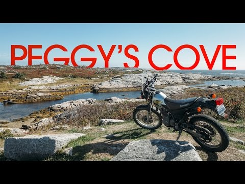 Off Roading at Peggy's Cove - MotoMaritimes 15