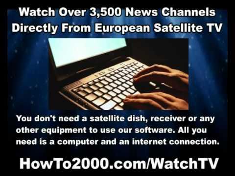 European Satellite TV | Watch Over 3500 News Channels!