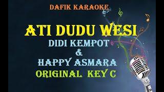 Ati Dudu Wesi Karaoke Didi Kempot Happy Asmara