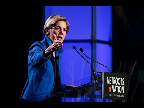 Elizabeth Warren: Dems Should Reject Centrism & Move Left