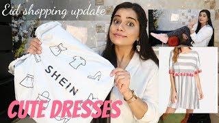 Shein CUTE DRESSES & SHOES + MYNTRA EID SHOPPING UPDATE | Sana K