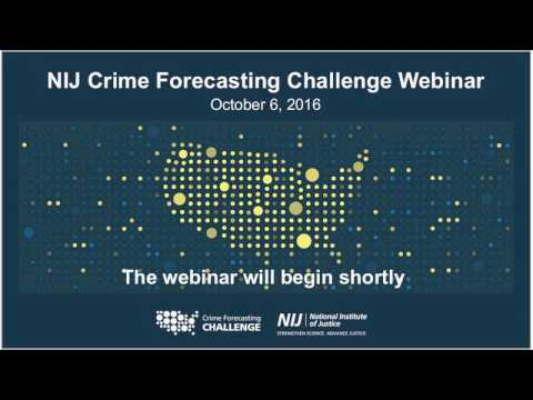 Real-Time Crime Forecasting Challenge, National Institute of Justice