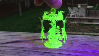 Illuminati Glass Miniature Carousel Horses