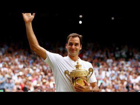 Roger Federer wins 8th Wimbledon title