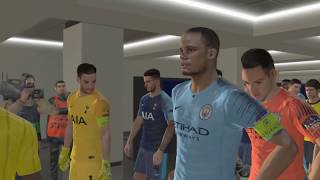 Manchester City vs Tottenham Hotspur 2-1 - UCL 2018/2019 - Highlights (Arabic Commentary) - Gameplay